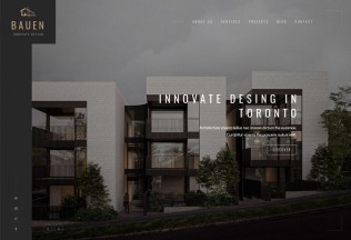 BAUEN – Premium Responsive Architecture & Interior HTML5 Template