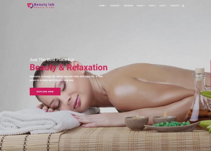 Beauty Lab – Premium Responisve Beauty & Spa HTML5 Template