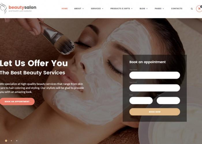 Beauty Salon – Premium Responsive HTML5 Template