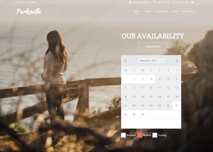 Bellevue – Premium Responsive Hotel + Bed & Breakfast Booking WordPress Theme