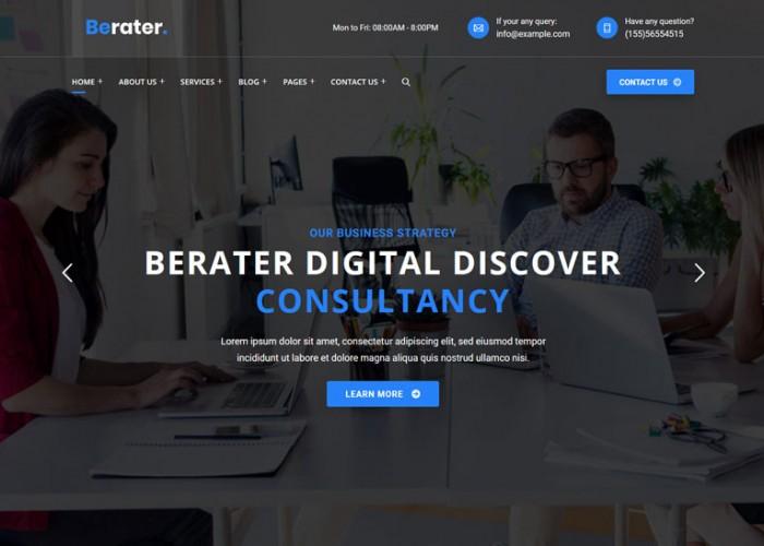 Berater – Premium Responsive Consulting WordPress Theme