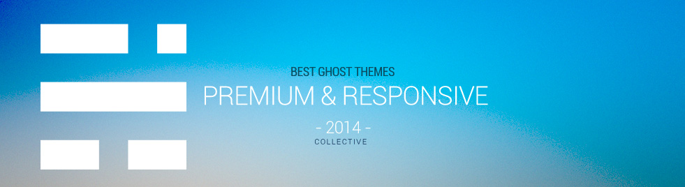 10+ Best Premium Responsive Ghost Themes in 2014
