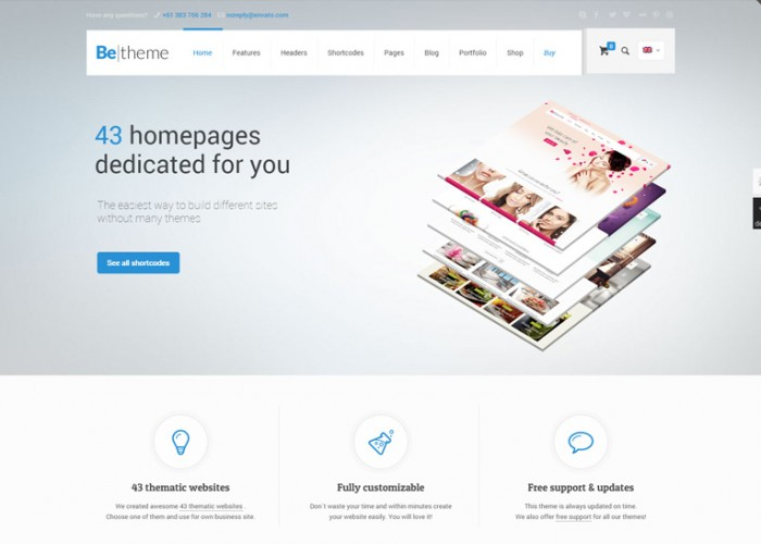 BeTheme – Premium Responsive MultiPurpose WordPress Theme