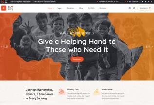 BigHearts – Premium Responsive Charity & Donation WordPress Theme
