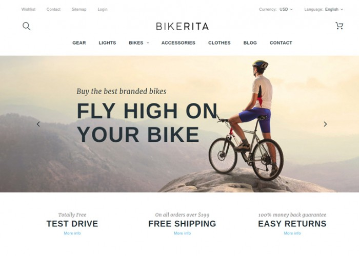 Bikerita – Premium Responsive PrestaShop Theme