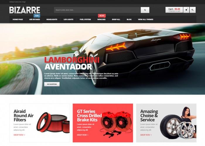 Bizarre – Premium Responsive Magento Theme