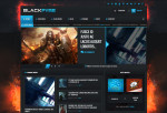 Blackfyre – Premium Responsive Gaming Community WordPress Theme