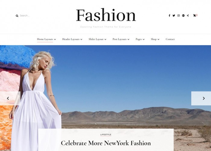 Blossom Fashion – Premium Responsive Fashion WordPress Theme