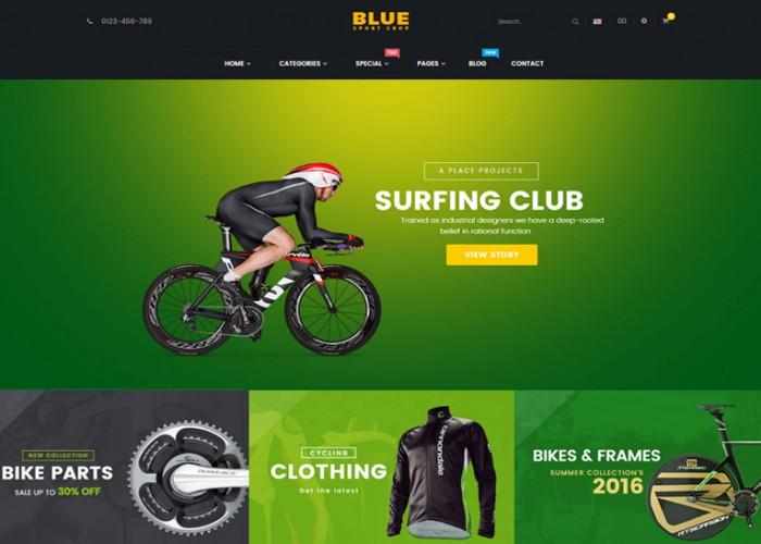 BlueSport – Premium Responsive Prestashop Theme for Sport Store