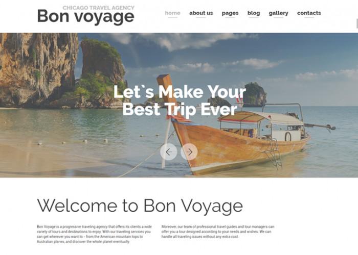 Bon Voyage – Premium Responsive Travel Agency Joomla Template