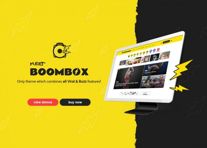 BoomBox – Premium Responsive Viral & Buzz WordPress Theme