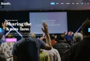 Booth – Premium Responsive Event and Conference WordPress Theme