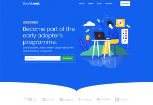 Bootsland – Premium Responsive Landing Page HTML5 Template