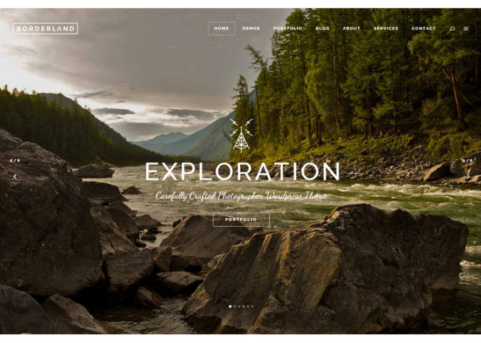 Borderland – Premium Responsive Multi-Concept WordPress Theme