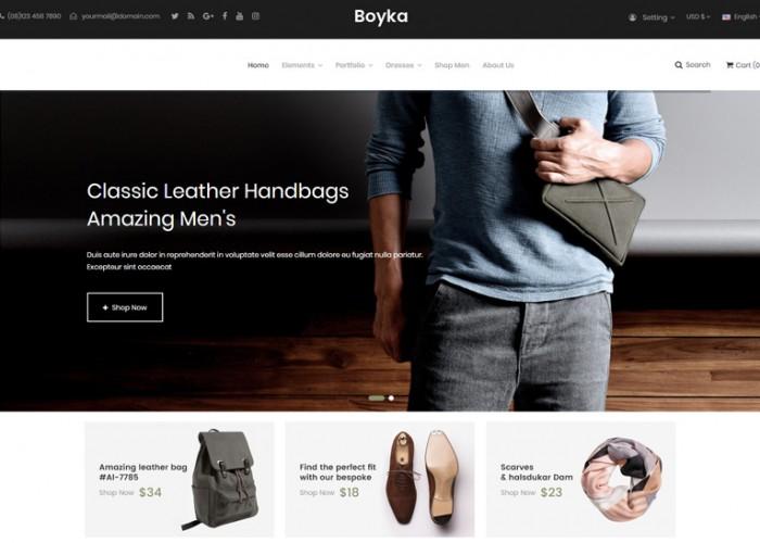 Boyka – Premium Responsive Fashion PrestaShop Theme