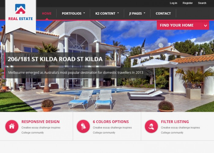BT Real Estate – Joomla Premium Responsive Theme