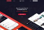 BuddyApp – Premium Responsive Mobile First Community WordPress Theme