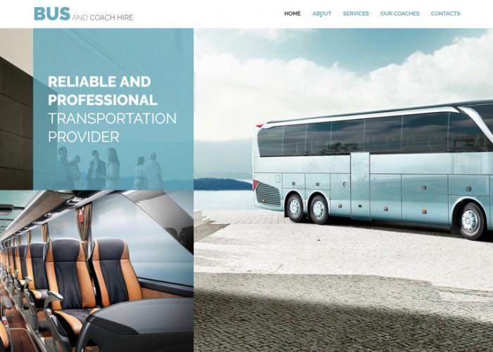 Bus – Premium Responsive Coach Hire HTML5 Template