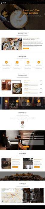 Best Cafe and Bar Muse Templates in 2015