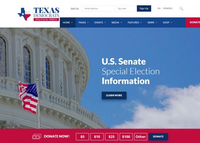 Candidate Pro – Premium Responsive Political Campaign HTML5 Template