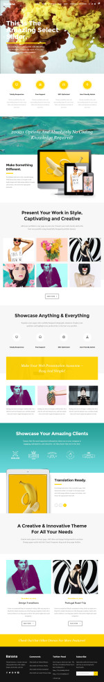5+ Best Responsive WordPress Themes that use SVG graphics in 2015