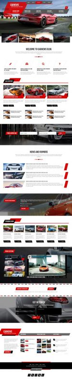 2 Best Responsive HTML5 Cars & Car Dealership Templates 2014