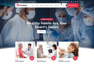 Cardioly – Premium Responsive Medical WordPress Theme
