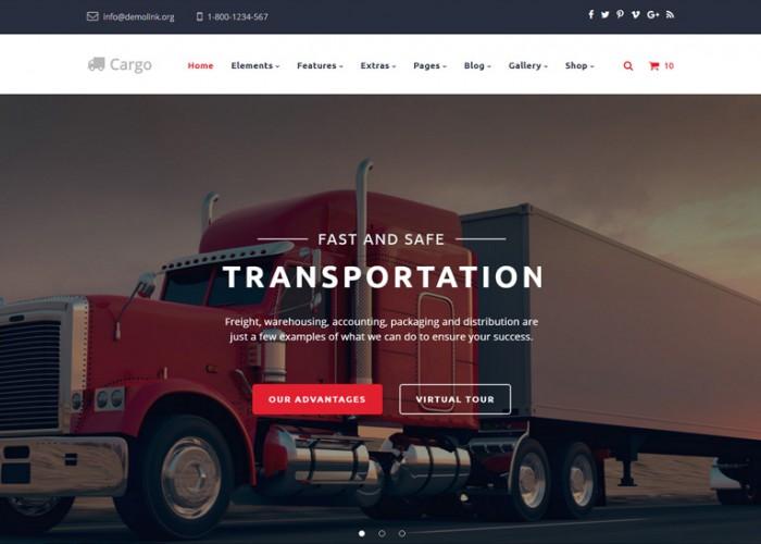 Cargo – Premium Responsive Multipurpose Transportation HTML5 Template