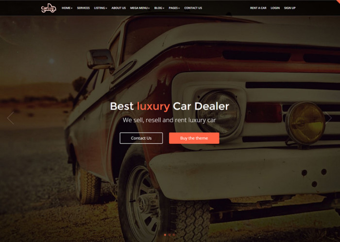 CarLux – Premium Responsive Car Dealership HTML5 Template