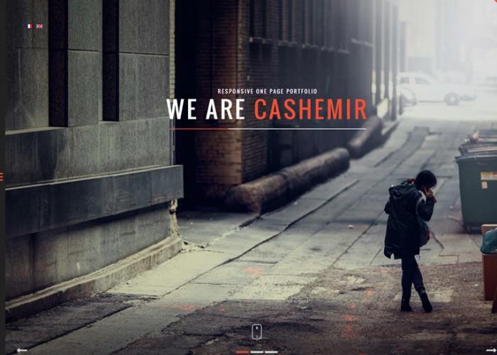 Cashemir – Premium Responsive One Page Joomla Template