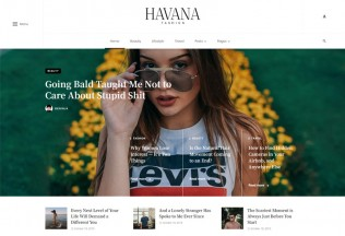 Ceris – Premium Responsive Magazine & Blog WordPress Theme