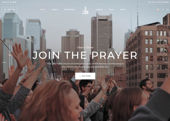 Chapel – Premium Responsive Church WordPress Theme