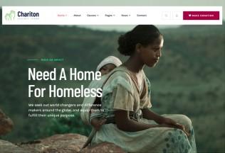 Chariton – Premium Responsive NonProfit Charity WordPress Theme
