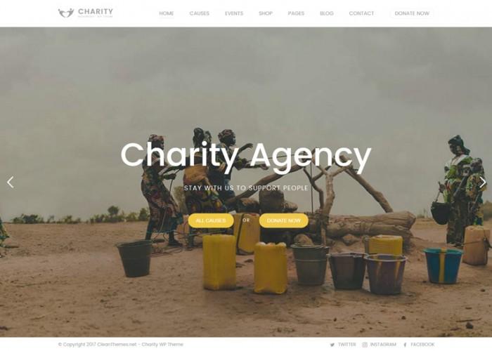 Charity Foundation – Premium Responsive Charity Hub WordPress Theme