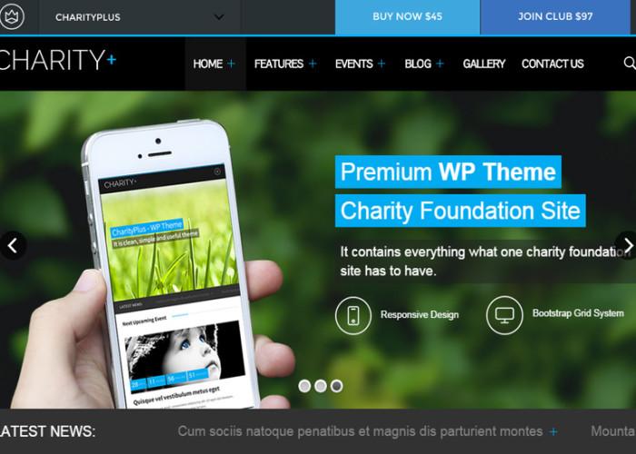 CharityPlus – Premium Responsive Charity WordPress Theme