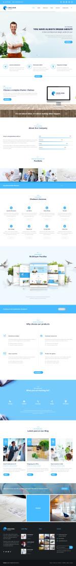 Best Responsive 3D Multi Layer HTML5 Templates