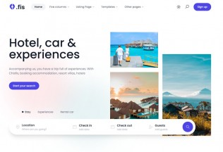 Chisfis – Premium Responsive Online Booking React HTML5 Template