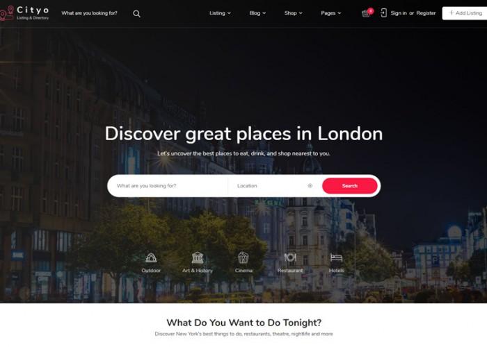 Cityo – Premium Responsive Listing Directory WordPress Theme