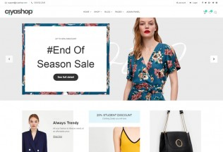 CiyaShop – Premium Responsive eCommerce React HTML5 Template