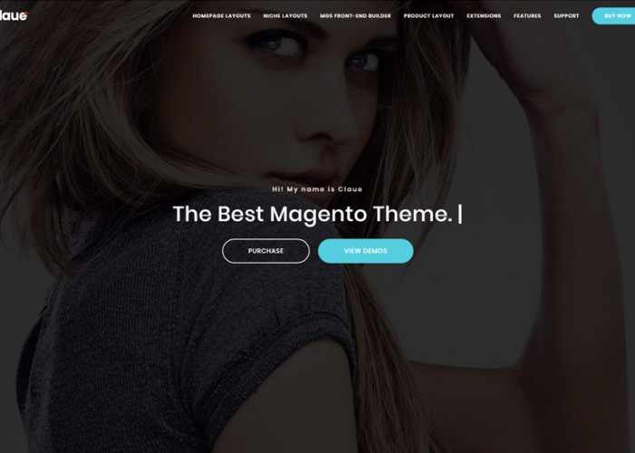 Claue – Premium Responsive Clean, Minimal Magento 2 and 1 Theme