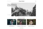 Clean Photo – Premium Responsive Photography Portfolio WordPress Theme
