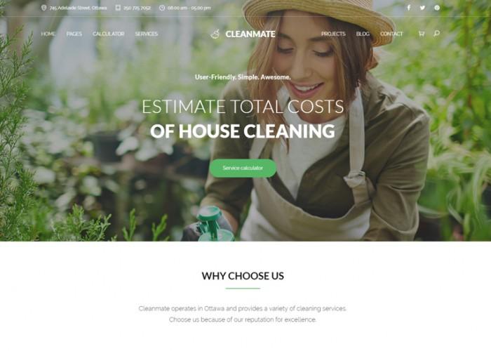 CleanMate – Premium Responsive Gardening WordPress Theme