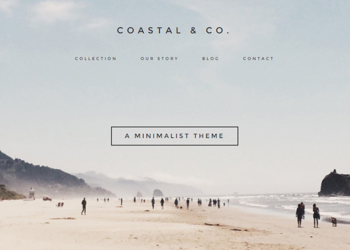 Coastal – Premium Responsive WordPress Creative Theme