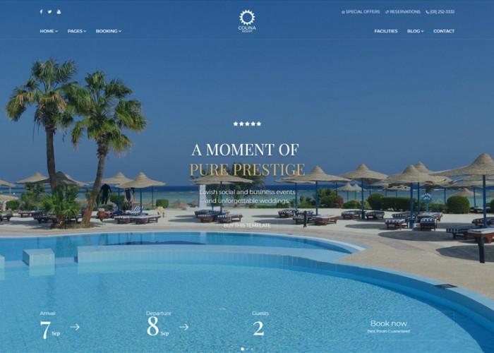 Colina – Premium Responsive Hotel HTML5 Template