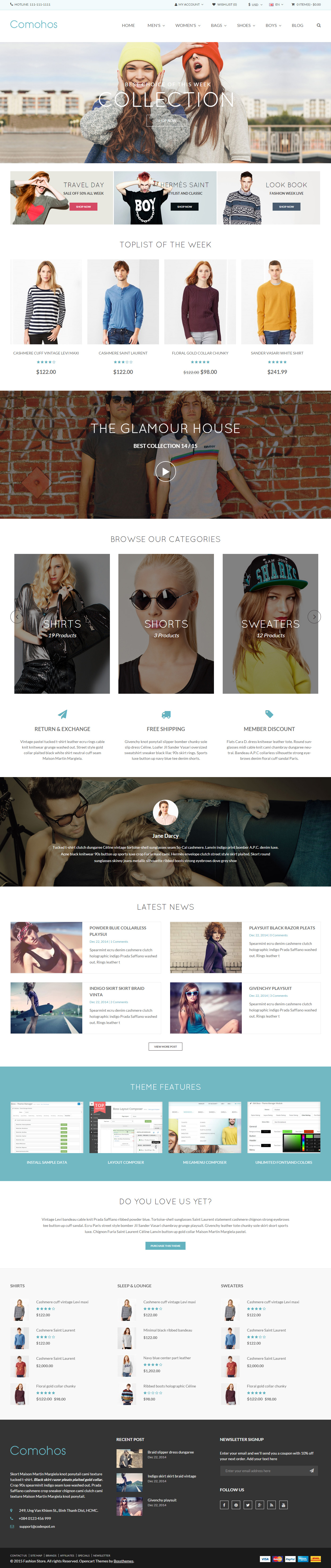 5+ Best Responsive Opencart Parallax Scrolling Themes 2019
