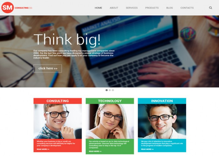 Consulting Co – Premium Responsive WordPress Theme