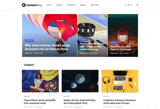 Contentberg – Premium Responsive Blog WordPress Theme