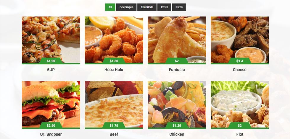 Food Menu gallery