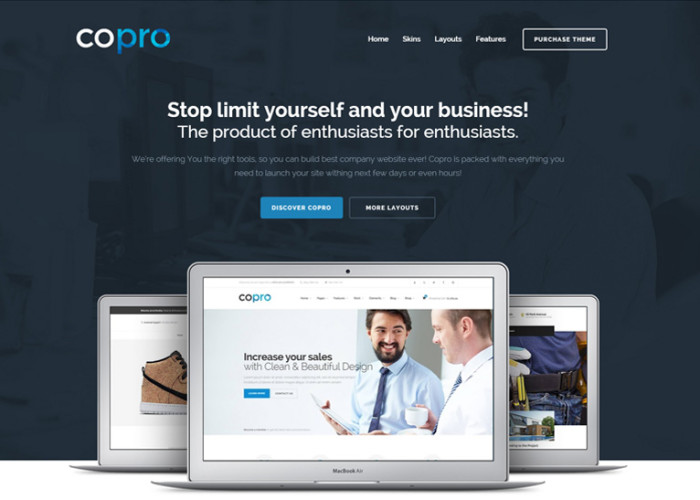 CoPro – Premium Responsive Multipurpose WordPress Theme
