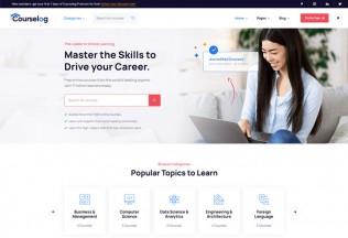 Courselog – Premium Responsive Education WordPress Theme